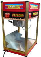 Wholesale Commercial popcorn maker machine Flat top Corn blasting machine electric heating corn maker Non Stick Pan Popcorn Machine