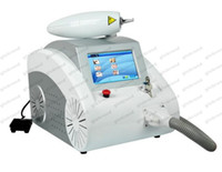 Wholesale 1064nm nm Q Switched Nd Yag Laser Tattoo Eyebrow Pigment Removal Machine Scar Acne Remover GLO119