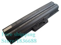 battery for vaio - New Genuine V mAh Cell VGP BPS13 BPS13 Battery for SONY VAIO VGN TX FW CS Series