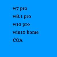 Wholesale Big Original Activate Online OEM Win WIN10 PRO COA Blue Sticker DHL