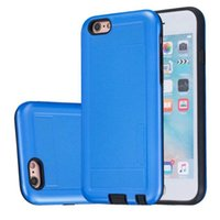 apple ii plus - Hybrid Armor IN TPU PC Hard Case For Iphone Plus PLUS G I7 S I6 S SE Huawei Ascend P9 Lite Y5 II Shockproof Durable Skin Cover