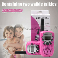 Wholesale Fedex DHL Free Wireles toy Walkie talkie Multi Channels Interphone Radio Intercom KM Car Auto Radio Wireless Travel Walkie Talkie Z660