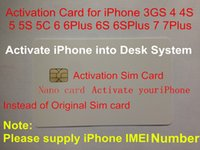 activate sim card iphone - Customized Activating SIM Card for iPhone GS S s c Plus S instead of original iPhone activation sim card