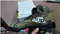 air desert - New arrival high Mens Shoes Retro V Supreme x Air Desert Camo Shoes Mens Shoes trainers Size