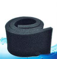 1W aquarium filter foam - Practical cm Biochemical Cotton Filter Aquarium Fish Tank Pond Foam Sponge Filter Black