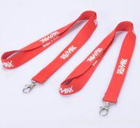 achat en gros de logo d'entreprise cadeaux-Un segment Lanyard DHL cordon personnalisé porte-clés personnalisé avec votre écriture ou le logo. Collier logo personnalisé pour le cadeau promotionnel d'affaires LO002