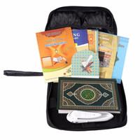 Wholesale Black Leather Bag Digital pen Quran Koran reader muslim islam coran digital pen quran player English French Urdu Spanish