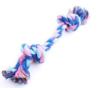 Wholesale dog toy Cotton Dental Rope Chew Cat Pet Dog Puppy Teeth Cleanning Toy Cute Animal Shape Knots String