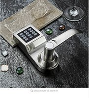 Wholesale L S Hide Key Digital Keypad Password Code Spring Bolt Access Smart Electronic Door Lock Intelligent Lock SL16 S