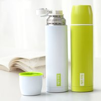 Wholesale Thermos CupThermo Mug Vacuum Cup Stainless Steel Bottle Thermal Thermos Bottle Insulated Tumbler Travel Thermocup Coffee Mugs