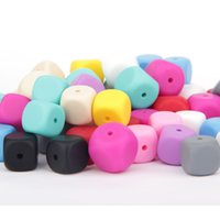 Wholesale Mix Color Brand New FDA Silicone beads Baby Teethers Chunky Teething Beads Chew Beads Fashion Jewelry Baby Chewlry Loose Bead for Mom Pendan