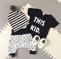 Wholesale Baby infant clothing spring and autumn explosion infant clothing baby clothing sets baby take a two piece