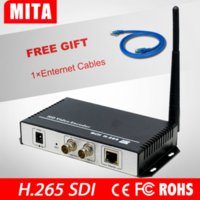 Wholesale TEST H H HD G SDI To IP Streaming Video Audio Encoder Wifi With HTTP RTSP RTMP UDP ONVIF Protocol