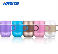 Wholesale Haers Very Popuplar ML Candy Color Thermos Stainless Steel Vacuum Flask Cup For Office Lady And Gentlemen LBG