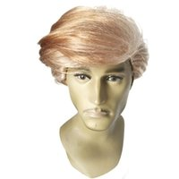 Wholesale Donald J Trump Wig Comb Over adult Make America Great Again Trump for President GOP wigs