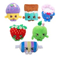 Wholesale Styles Cookie Fruit and Icecream Shop Item Plush Toy Dolls Stuffed Toys