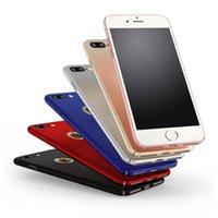 al por mayor caja de plástico brillante iphone-De lujo de plástico duro de nuevo caso brillante para el iPhone 6 más 6s más 5 SE iPhone 7 más la cubierta completa PC casos del teléfono p20