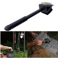 bbq brush scraper - New Tool Wizard Steel BBQ Cleaning Brush Barbecue Grill Cleaner Scraper Steel Scrubbers Grill Brush Scrub Pads for Grill Brush Accessorie