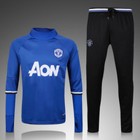 Wholesale Top quality Training suit Men sport wear Training Soccer suit Soccer sets football Jacket pants
