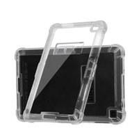 amazon plastic bags - Transparent Protective Shell Clear Tablet Case TPU And PMMA Full Protect Raised Lip Armor Cover For HD6 Kindle2 Opp Bag
