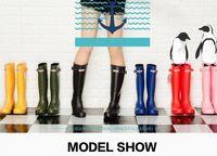 Wholesale MS Rain boots waterproof women wellies boots woman rain bots high boot rainboots hot style rain shoe