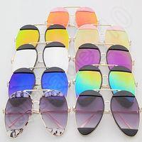 Sports american eyewear - 9 Colors Fashion Eyewear Unisex Joint Sunglasses American Style Sunglasses UV400 Metal Full Frame Sunglasses STY3387 LJJC5470
