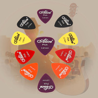 Wholesale 100pcs guitar picks box case Alice acoustic electric guitar accessories musical instrument thickness mm