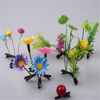 bean sprouts plant - Lovely Girls Plants Grass Hair Clips Headwear Baby Novelty Small Bud Antenna Hairpins Accessories Grass Bean Sprout Mushroom Party Hair Pin