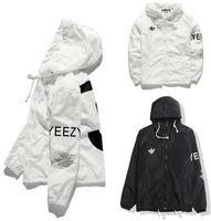 Wholesale Y jacket for men women windbreakers outdoor sport hip hop streetwear softshell kanye west yeezus tour bomber jackets windbreaker