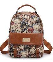 backpack knitting pattern - 2016 new backpack bag student bag Vintage animal pattern of style