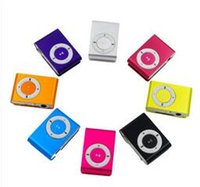 Wholesale Classic clip small clip MP3 hot metal clip MP3 iron clip MP3 multiple color any you choose