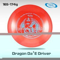 Wholesale Professional Yikun Disc Golf Driver Dragon Line Red Da E PDGA Approval