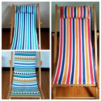 Wholesale pc Natural Wood Beach Chair Outdoor Chair Adirondack Patio Chair Wooden Furniture Foldable Suit For Carry