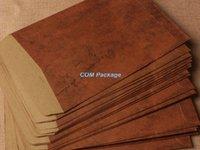 Papel de los efectos de escritorio de la letra de la invitación del partido de la postal del sobre de papel de Kraft de Brown del estilo al por mayor-11 * 16cm Sobre del regalo del correo aéreo del vintage