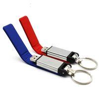 Cheap 2017 Hot sale fashion leather usb flash drive fur key chains pendriver 8gb 16gb 32gb commercial memory stick 4gb 64gb Good gift