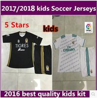 Wholesale Real Madrid jerseys Mexico club home Stars jerseys Tigres UANL Stars kids shirt thai quality Sports outdoor raincoat