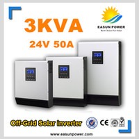 battery charger inverter - ISolar SP Kva w V to V off grid solar inverter pure sine wave inverter with battery charger and solar charger A