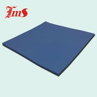 Plastic anti slip rubber sheet - mm x mm x mm Blue High Temperature Silicone Anti Slip Pad Cooling thermal Rubber Sheet LMS TC150