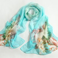 Wholesale The latest style of silkworm silk spring and autumn winter season colors of silk scarves female style