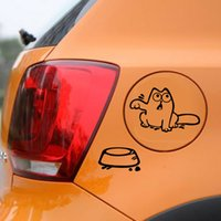 automobile fuel tank - 1pcs Automobiles Motorcycles Exterior Accessories Car Stickers cm cm Hungry Cat quot Feed Me quot Stickers Funny Fuel Tank Stickers Auto Decals