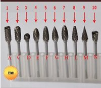 Wholesale 10x Carbide Rotary File Metal Grinding Head mmx6mm Tungsten Steel Cutter