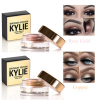 Wholesale Kylie Birthday Editon Kylie Jenner Cosmetics Creme Shadow Copper Rose Gold Creme Ombre Color Options Eyeshadow Gel