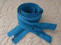 Wholesale Sports clothes placket5 nylon single pale blue zipper open cm Ykk placket zipper nylon coat Jacket dress zipper