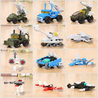 Wholesale Baby Children Kids Building Blocks Special Troops Plastic Brick Toys For Boys Girls Intelligence Gift