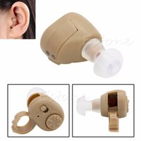 Wholesale AXON K Listening Mini Hearing Aid Aids Ear Sound Amplifier Volume Adjustable