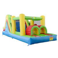Wholesale Bounce House Inflatable Obstacle Course Jumper Moonwalk Trampoline For Kids