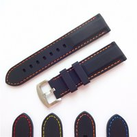 Wholesale 22mm Replacement Watch Strap Bands Waterproof Premium Silicone Rubber