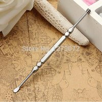 Wholesale in1 Stainless Steel Ear Pick Curette Wax Earpick Removal Remover Cleaner Tool XDyjz