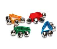 Bedding & Litter baby crisps - Toys Hot children s dance baby bell wrist rattles educational toys crisp tones wooden toys montessori baby toy
