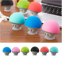 Wholesale Cartoon small mushroom head outdoor portable bluetooth speaker little sucker mini mobile phone portable outdoor stereo wireless subwoofer